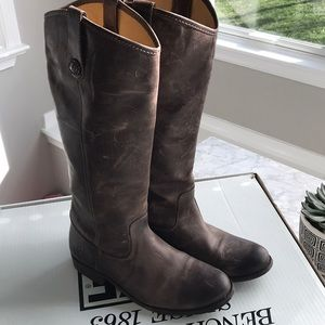 Frye Leather Melissa Boots